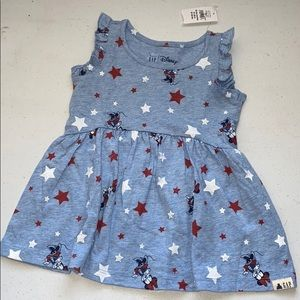 NEW Baby GAP Minnie Mouse Dress 18-24 Months